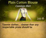F Cotton Blouse