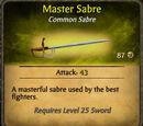 Master Sabre
