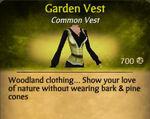 F Garden Vest