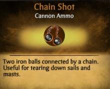 Chain Shot card