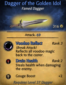 Dagger of the Golden Idol - clearer