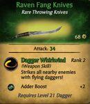 Raven Fang Knives