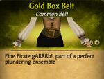 F Gold Box Belt