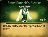 St. Patrick's Blouse