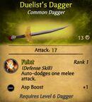 Duelist's Dagger