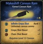 Makeshift Cannon Ram