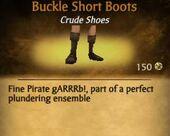Buckle Short Boots
