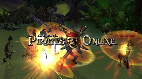The Legend of Pirates Online Developer Preview - Enemies!