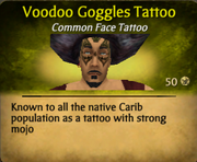 Voodoo Goggles Tattoo clearer