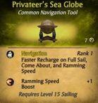 Privateer's Sea Globe