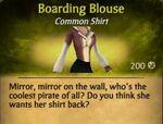 F Boarding Blouse