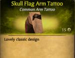 SkullFlagTat