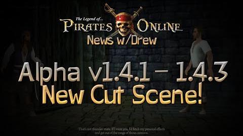 TLOPO News w Drew - Alpha Update 1.4.1-1.4.3 - New Cut Scene!