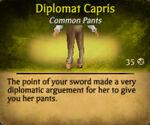 Diplomat capris