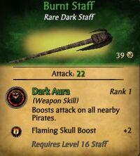 Burnt Staff