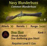 Navy Blunderbuss