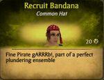 Recruit BandanaF