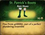 St. Patrick's Boots