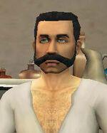 Portrait Barber Basil