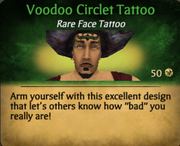 Voodoo Circlet Tattoo clearer
