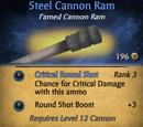 Steel Cannon Ram