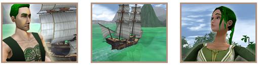Screenshots sea green