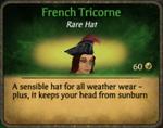 French Tricorne
