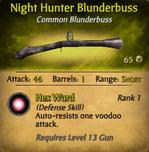 Night Hunter Blunderbuss - clearer