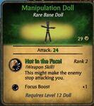 Manipulation Doll