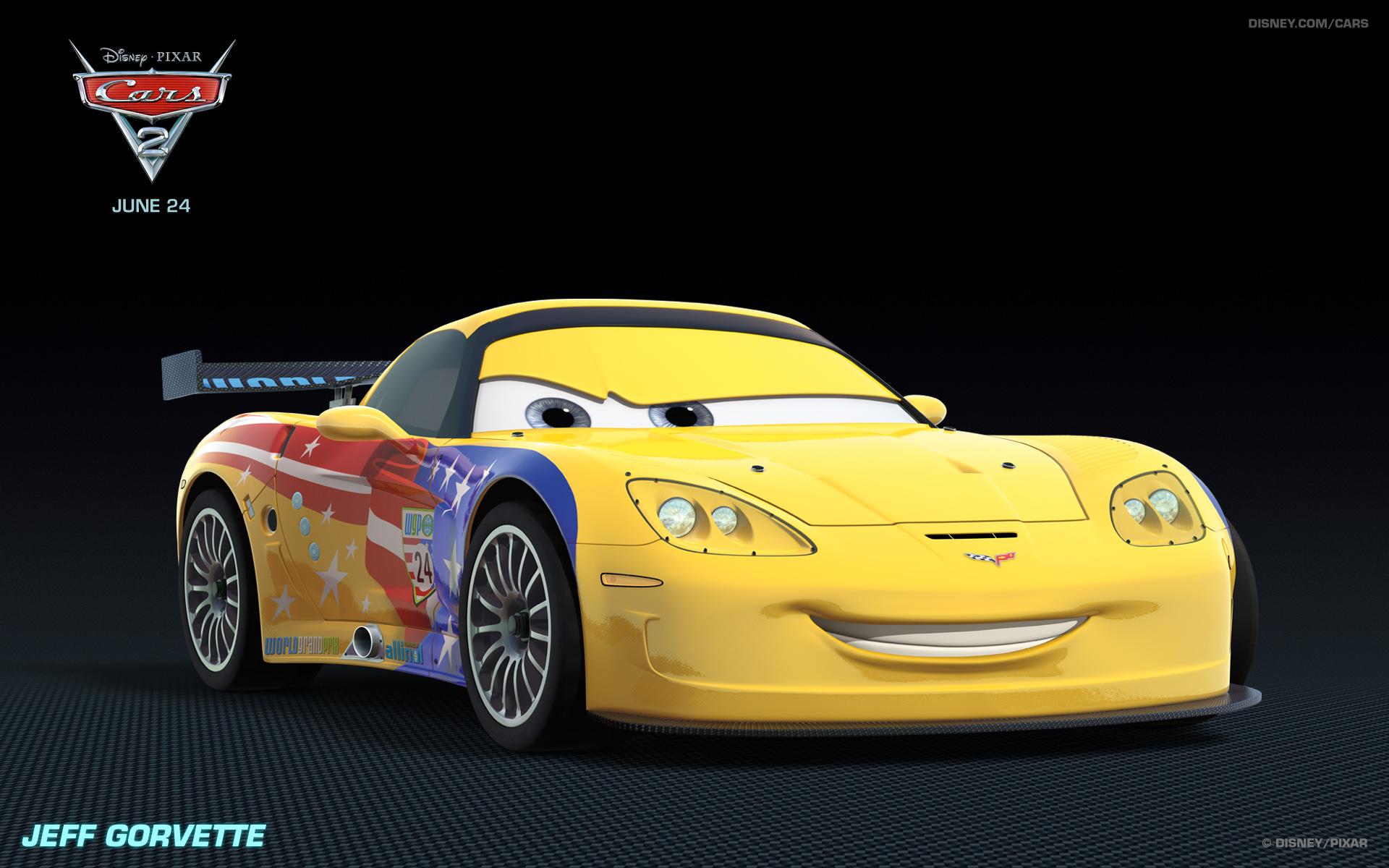 Cars 2 - Jeff Gorvette - Disney