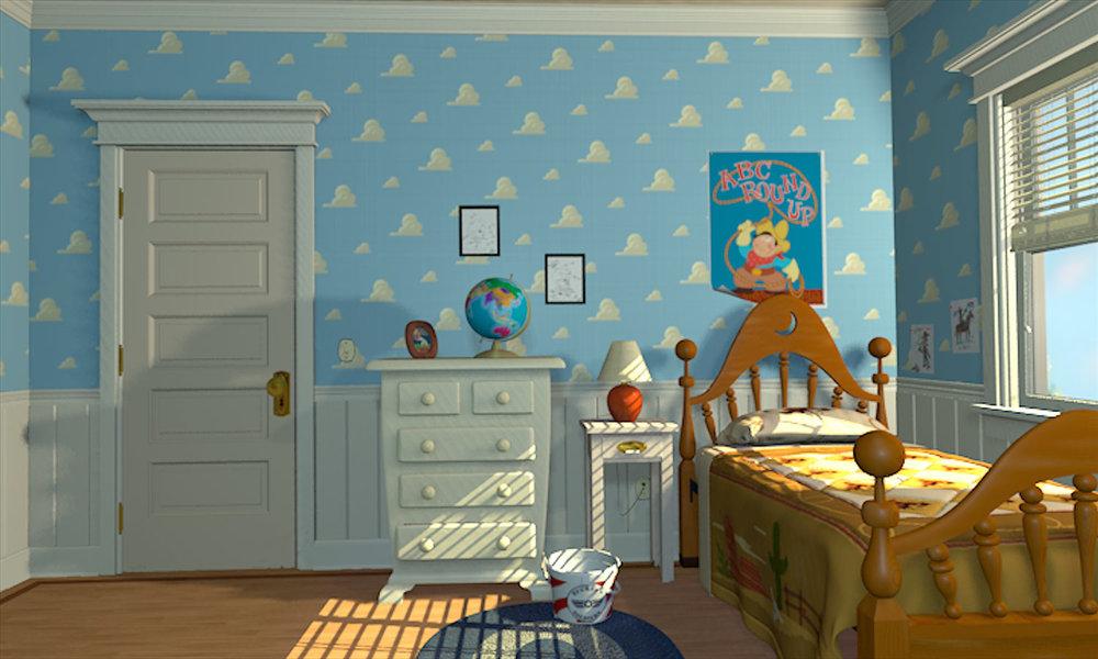 Full resolution. Image   Andy s bedroom jpg   Pixar Wiki   Fandom powered by Wikia