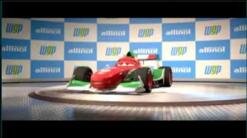 Cars 2 Francesco Racing Interstitial