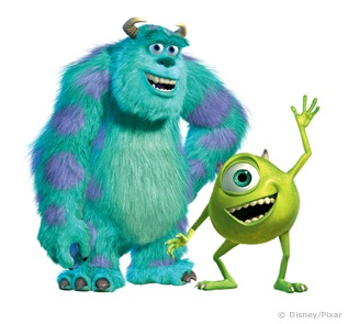 How To Draw Mike Wazowski And Sully Mike Wazowski and Sulley 002
