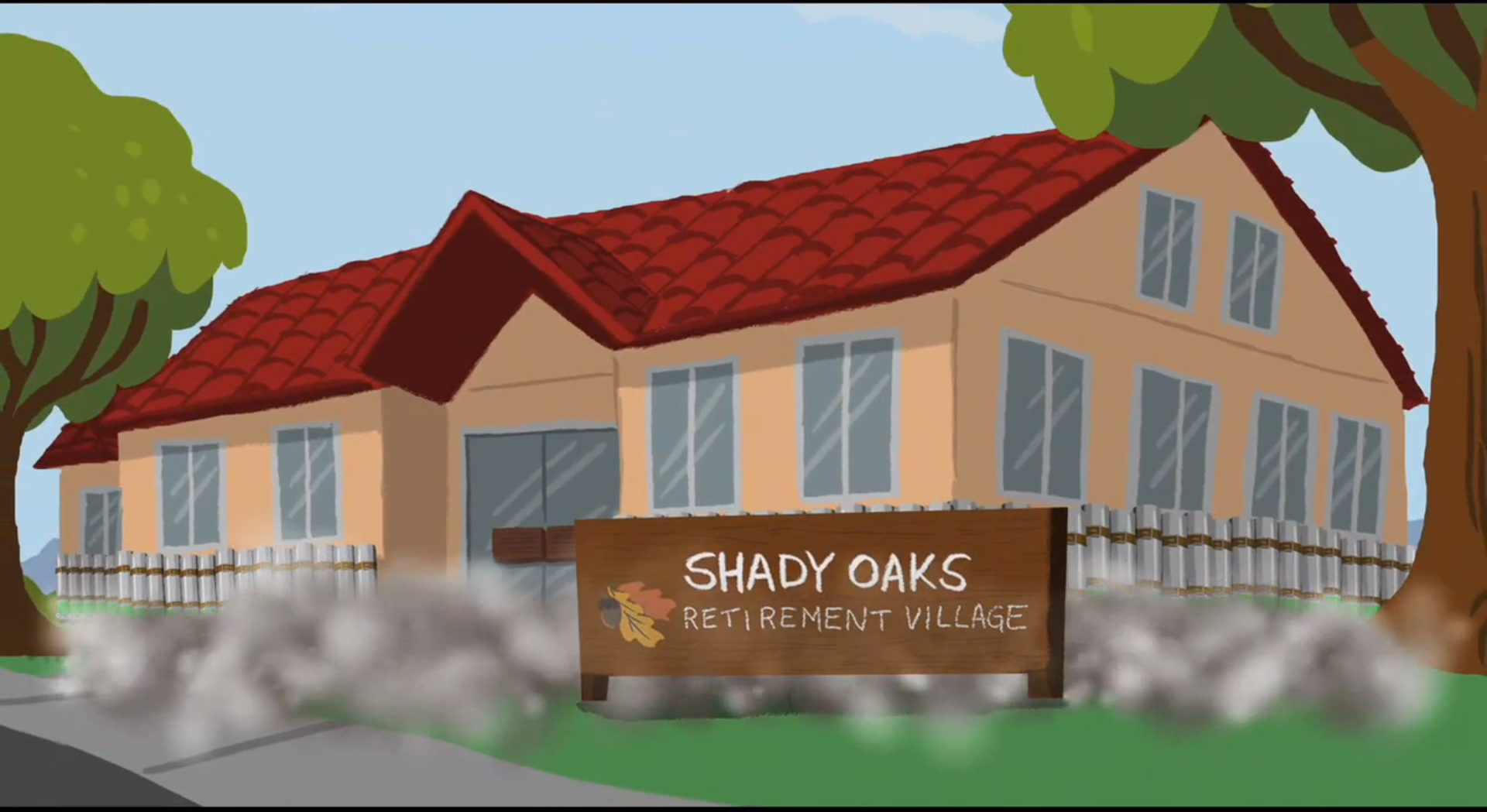 Shady Oaks Retirement Village Pixar Wiki Fandom