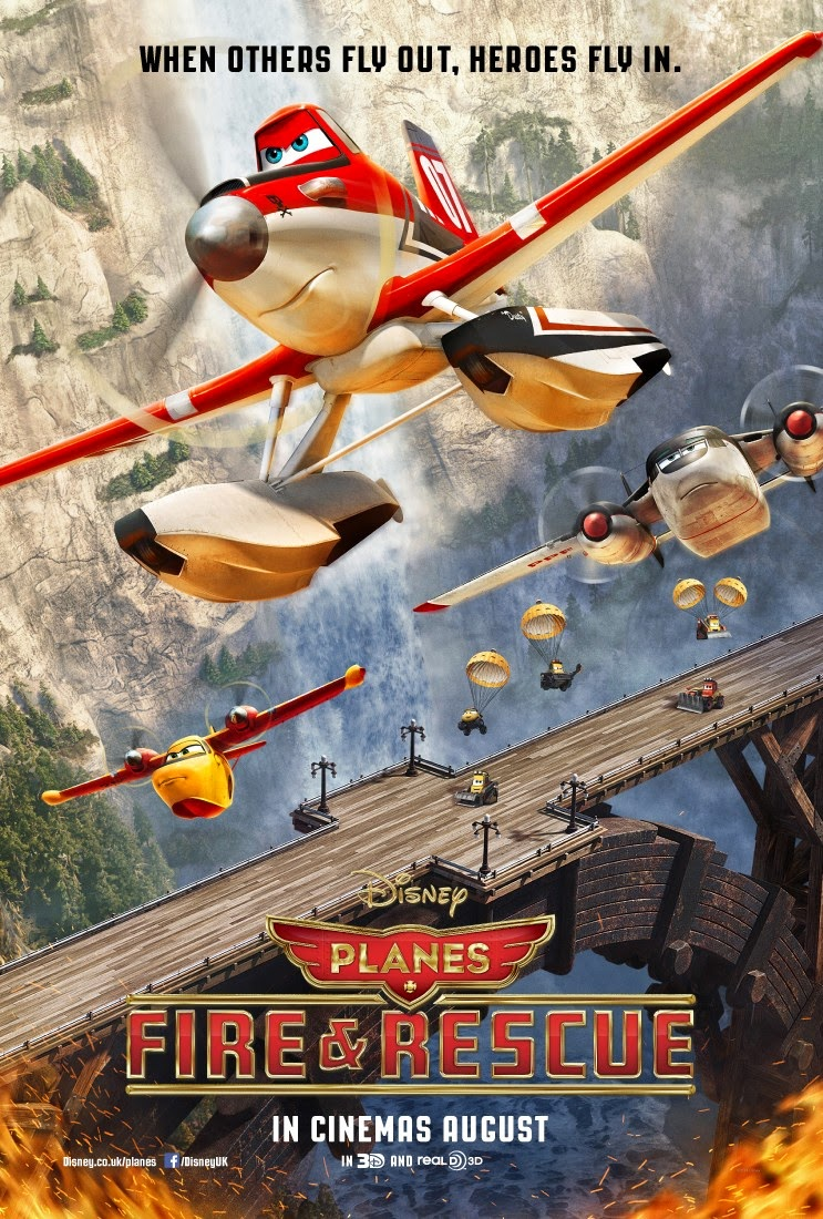 Image of Planes 2 : Fire & Rescue (2014) Bluray 720p Subtitle Indonesia