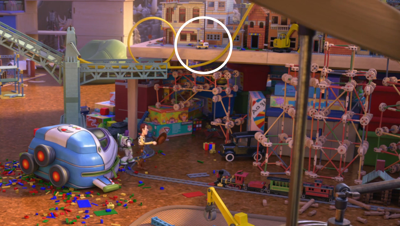 Image Toy Story That Time Forgot Pizza Planet Truck Jpg
