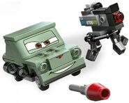 LEGO Petrov Trunkov avec camera hd