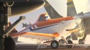 Dusty planes