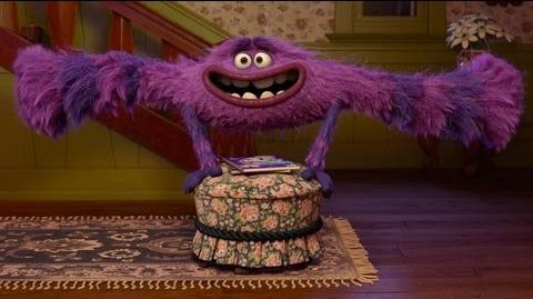 "Monsters University ""Terri & Terry and Art"" Clip"