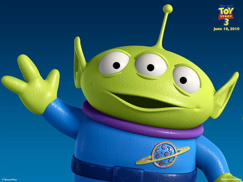 Image result for toy story little green aliens