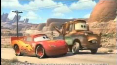 Disney Pixar Cars - Energizer TV spot