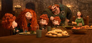 Brave-Merida-At-Table-With-Family