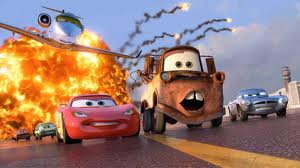 File:Mater and Mcqueen running in cars 2.jpg