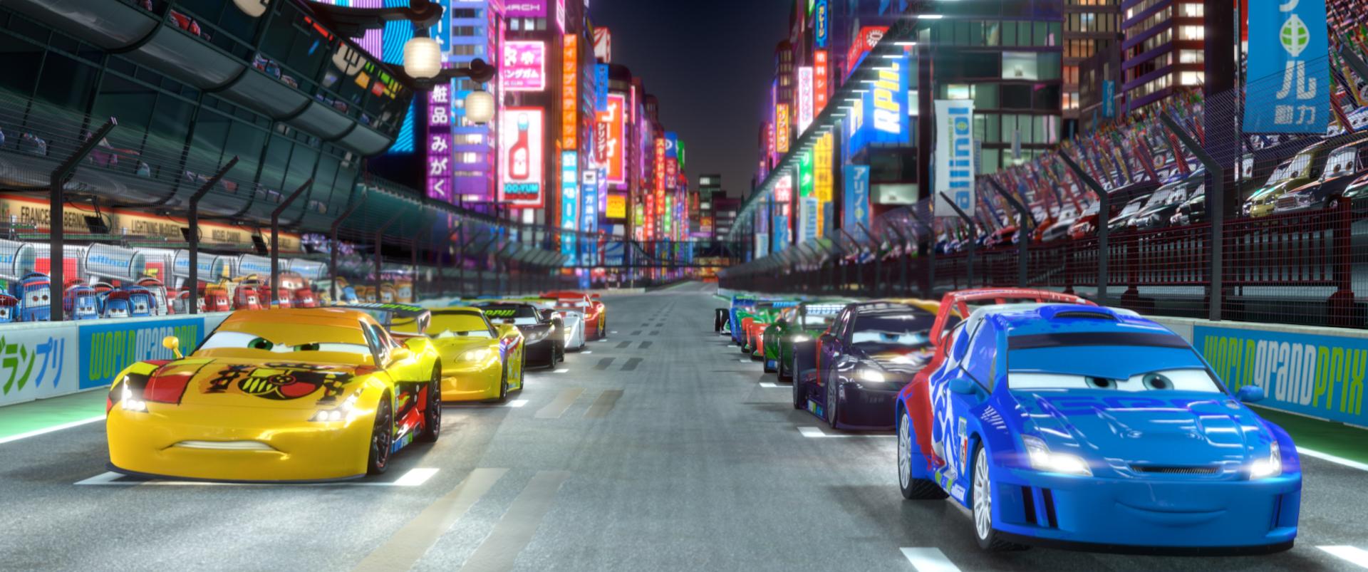 Image - Cars 2 Japan Race.jpg | Pixar Wiki | Fandom ...