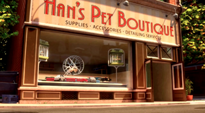Hans' Pet Boutique