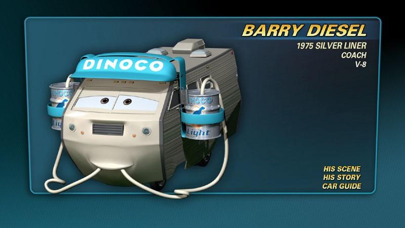 barry diesel pixar wiki fandom powered by wikia