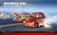 Cars Run Bruce run by danyboz