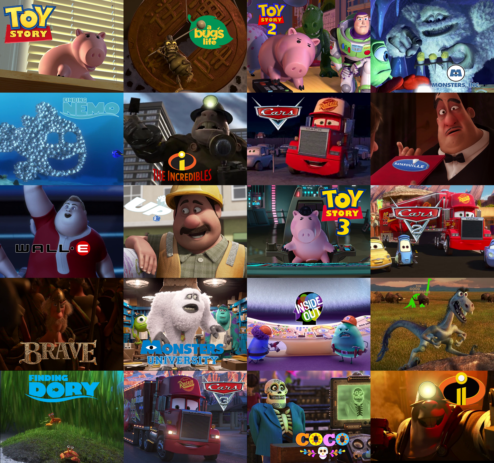 John Ratzenberger Pixar Wiki FANDOM Powered By Wikia - Pixar movies connected