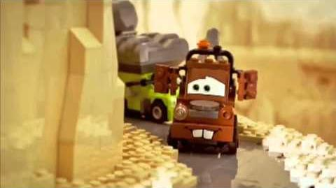 Mater's Brick Tales Mater's Spy surprise
