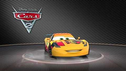 """Cars 2 Turntable """"Miguel Camino"""""""